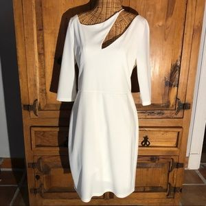 Boston Proper Pinterest Cutout Dress